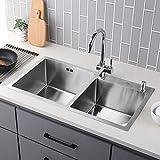 2 Becken Küchenspüle Test