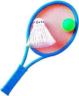 BESPORTBLE, kit iniciante de raquete de tênis infantil com bolas, raquete de tênis leve para pais e filhos, brinquedos de ...