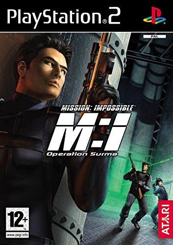 MISSION IMPOSIBLE OPERATION SURMA + SPY FICTION PLAYSTATION 2