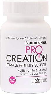 NaturesPlus Procreation Women - 60 Vegetarian Capsules - Natural Female Fertility Support, Multivitamin & Mineral Suppleme...