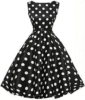 Black Cotton Casual Dress For Women