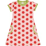 Maxomorra Girl Kleid Kurzarm Watermelon 74/80