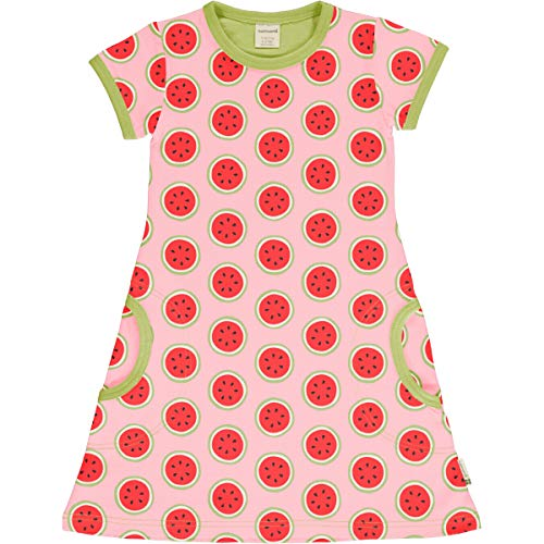Maxomorra Girl Kleid Kurzarm Watermelon 122/128