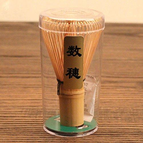 Chasen Bambu Herramienta Batidor de Polvo Matcha Te Japones Accesorio Ceremonia 60-70