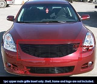 Compatible with 2011-2012 Nissan Altima Sedan Black Billet Grille Grill Insert N19-H08868N