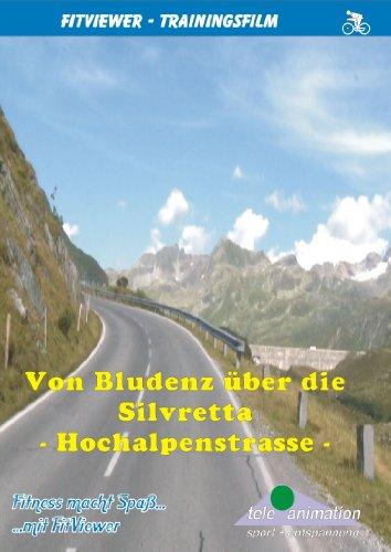 Von Bludenz über die Silvretta Hochalpenstrasse - FitViewer Indoor Video Cycling Österreich
