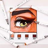 Immagine 2 ohuhu marker 24 set pelle