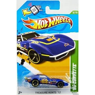hot wheels treasure hunt corvette