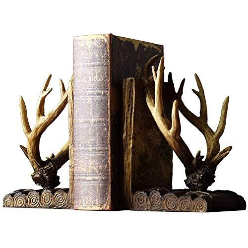 YIBOKANG Office Art Sookends Bookends Ornaments Nordic Creative Sookends Books by Desktop Book Clip Bookshelf Ornamentos Decorativos