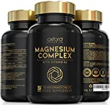 Advanced Vegan Magnesium Tablets   Magnesium Supplements for Restless Leg Syndrome Relief, Leg Cramps & Calm Sleep   Magnesium Citrate, Oxide & Vitamin B6 120 Servings   UK Made Magnesium Supplement