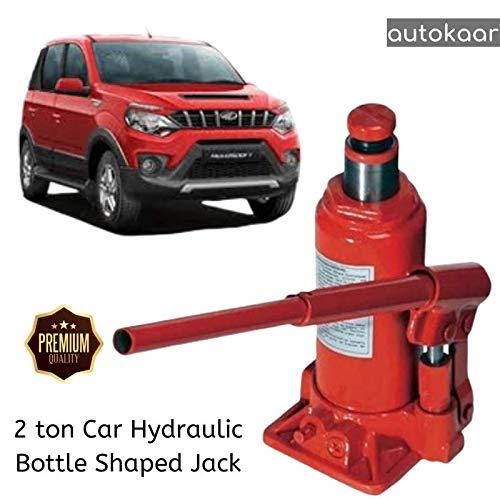 AUTOKAAR Heavy Duty CAR Jack Hydraulic Bottle Jack 3 TON Capacity RED/Blue/Black for NUVOSPORT