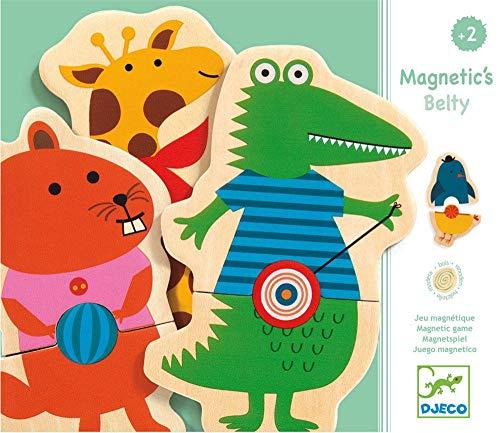 DJECO Adventskalender, magnetisches Spielzeug Belty, mehrfarbig (15 Stück)