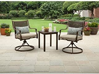 Better Homes and Gardens Lynnhaven Park 3-Piece Outdoor Chat Set