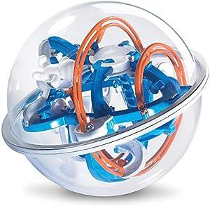 Brigamo Space Labyrinth Spiel, Kugellabyrinth Ball, 20 cm