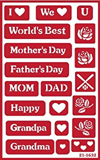 mothers day stencils