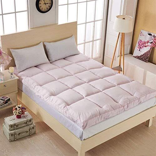 dongyu Colchón tapizado supersuave de 10 cm de espesor, colchón Tatami, colchón plegable, portátil, cómodo (tamaño: 100 x 200 cm, color: B)