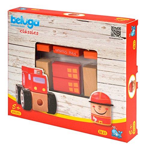 Beluga Jouets 50101 Pompiers Station, Jeu, 19 pièces