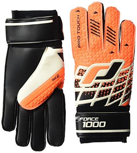 Pro Touch Torwart-Handschuhe Force 1000 PG, Orange/Schwarz/Weiss, 9