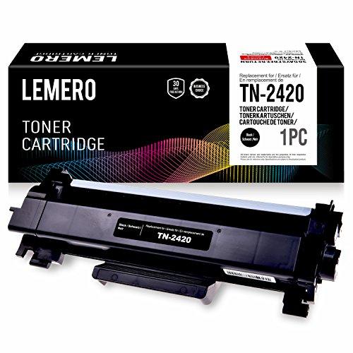 Negro, 2-Pack Fimpex Compatible Toner Cartucho Reemplazo por Brother DCP-L2510D L2530DW HL-L2310D L2350DW L2370DN L2370DW L2370DW XL L2375DW MFC-L2710DN MFC-L2710DW L2730DW L2750DW TN2420 con Chip