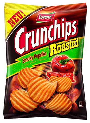 Lorenz Snack World Crunchips Roasted Paprika, 150 g