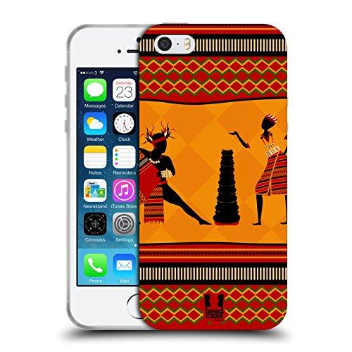 Head Case Designs Filippino Danze Etniche Cover in Morbido Gel e Sfondo di Design Abbinato Compatibile con Apple iPhone 5 / iPhone 5s / iPhone SE 2016