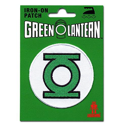 Logoshirt Linterna Verde Logotipo Parche - DC Comics Patch - Green Lantern Logo - Superhéroe Insignia - Diseño original con licencia