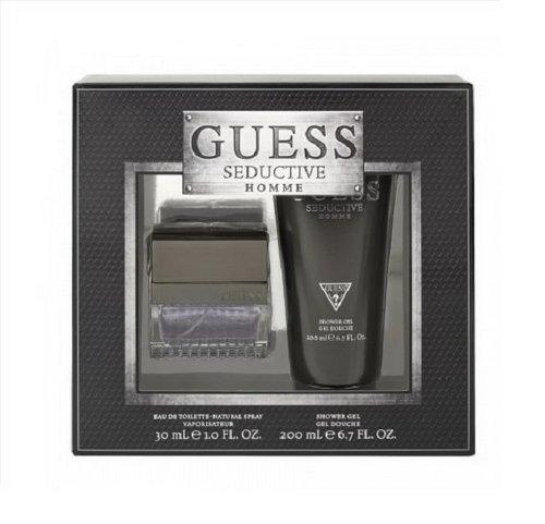 GUESS SEDUCTIVE Homme 1.0 oz. EDT Spray Men's Cologne + 6.7 oz. gel Set by GUESS