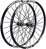 YSHUAI Rueda de bicicleta MTB de 26 pulgadas, 27.5 pulgadas, 29 pulgadas, 29 pulgadas, eje de carbono para bicicleta de montaña, rodamiento de sellado para crossride, cubo negro, 29 pulgadas