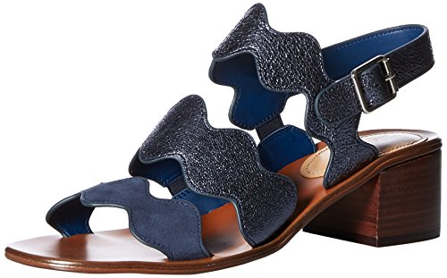 Marc Fisher Women's OMALLA Sandals, Blue, 6 M US