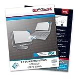 atFoliX Lámina Protectora de Pantalla FX-Clear para ASUS EEE PC 900HA - ¡Protección para la Pantalla Transparente como el Cristal!