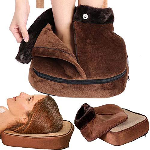 Calentadores De Pies Eléctricos, Herramienta Cuidado, Calentador Zapatos, Masajeador Cabeza, Unisex, Zapatos Masaje Cálidos Para