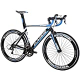 Eurobike Road Bike EURXC7000 54CM Light Aluminum Frame 16 Speed 700C Racing Bicycle BlackBlue