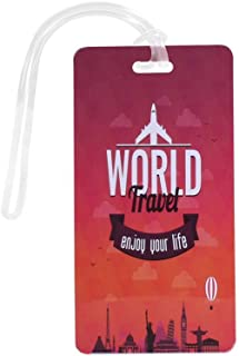 World Travel Luggage Tag