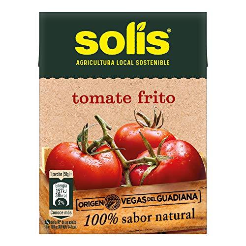 SOLIS Tomate Frito Clásico Brick, Sin Gluten, 350g