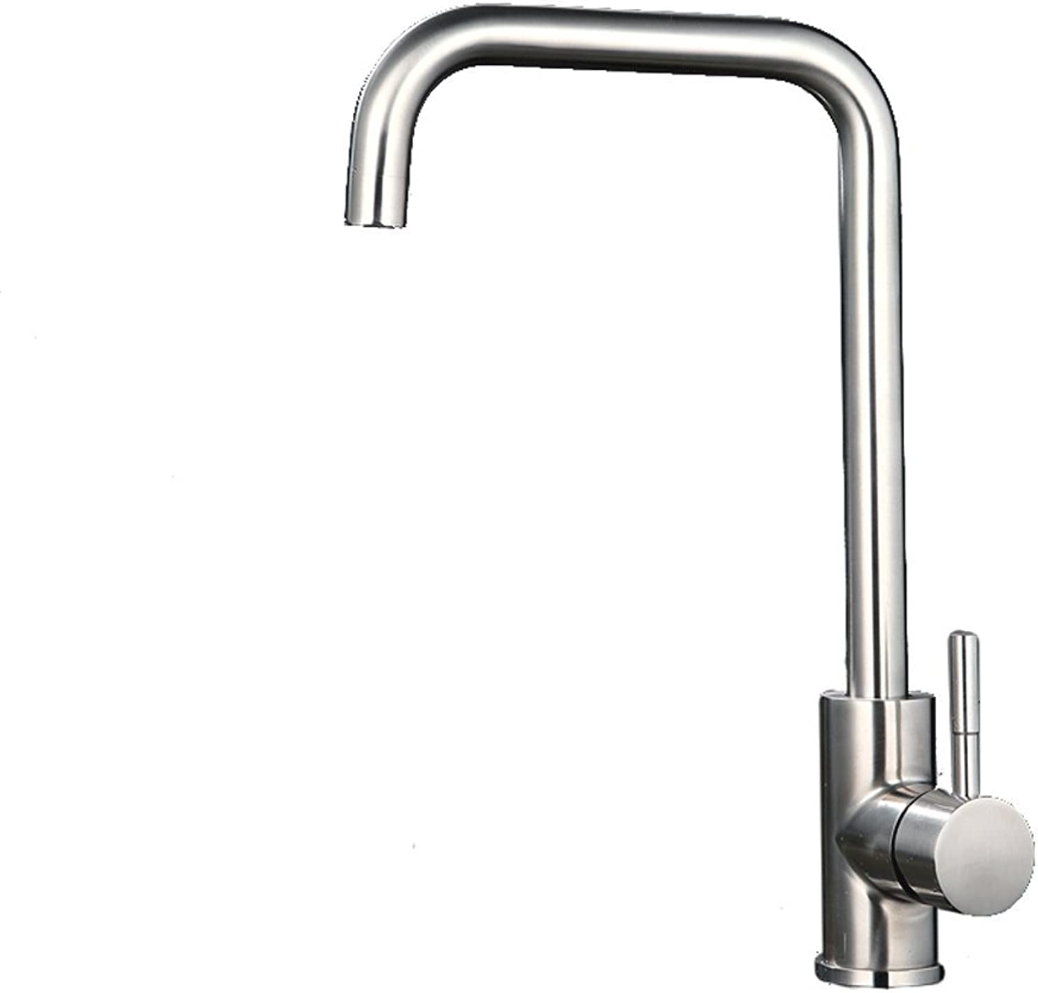 Lead-free 304 stainless steel faucet Kitchen hot and cold water faucet Sink basin sink faucet Universal redating faucet (color   7)