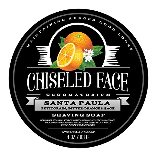 Santa Paula Citrus - Handmade Luxury Shaving Soap from Chiseled Face Groomatorium