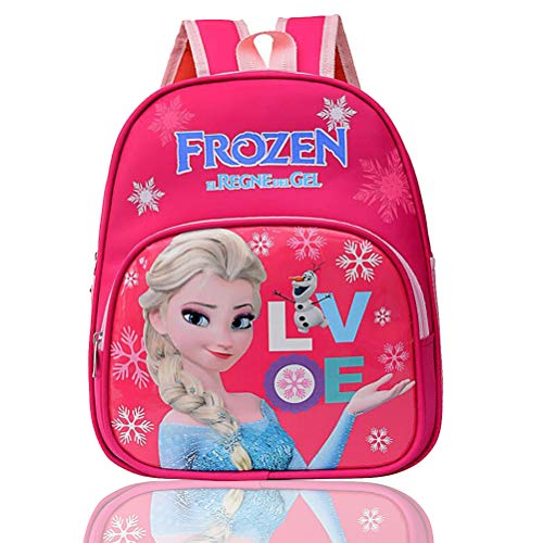 kindergartenrucksack mädchen - WENTS Frozen Kleinkinder Kinderrucksack Rucksac mit Taschen/Mini Backpack für Mädchen Geburtstagsgeschenk Rucksack