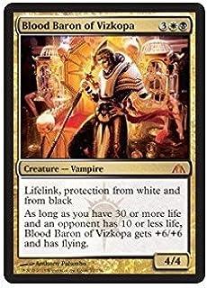 Magic: the Gathering - Blood Baron of Vizkopa - Dragons Maze by Magic: the Gathering: Amazon.es: Juguetes y juegos