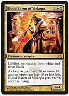 Magic: the Gathering - Blood Baron of Vizkopa - Dragons Maze by Magic: the Gathering: Amazon.es: Juguetes y juegos
