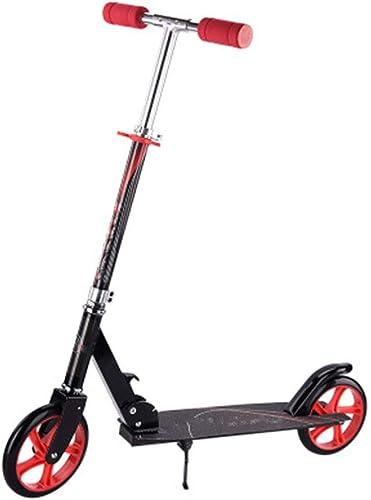 SBKD Scooter Personnalisable Se Pliant de Scooter des Enfants (Couleur   Noir)