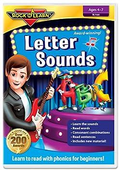 Letter Sounds DVD by Rock  N Learn