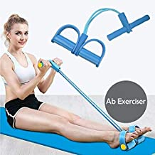 Wazdorf Pull Reducer, Waist Reducer Body Shaper Trimmer for Reducing Your Waistline and Burn Off Extra Calories, Arm Exercise, Tummy Fat Burner, Body Building Training, Toning Tube (Multi Color)