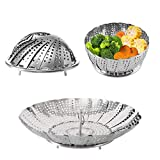 Zocy Steamer Basket Stainless Steel Instant Pot Accessories for Food and Vegetable, Premium...