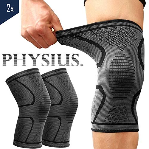 PHYSIUS Kniebandage Volleyball Knieschoner (M)