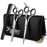 Salon de coiffure coupe de cheveux, salon de coiffure en acier inoxydable 6' éclaircissage Ciseaux Set