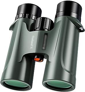 FANGFHOME télescope Jumelles 10X42 Jumelles Professionnelles HD à Fort grossissement Sorties à Domicile Voyages Lunettes P...