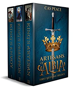 Artesans of Albia: First Artesans Trilogy Box Set by [Cas Peace]