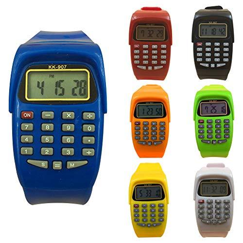 Digitaler Taschenrechner für Kinder, quadratisch, Untersuchungswerkzeug, Geschenk für Kinder