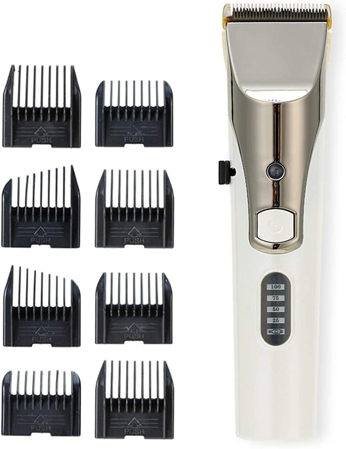 MZP Corded Dog Clipper Set 5Speed Low Noise Vibration Pet Grooming Clippers HighPerformance Battery 4 H Work Time Stainless Steel Detachable Blade Easy to Use