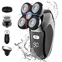 Rueoo 5D Floating Head Rechargeable Cordless Electric Shaver